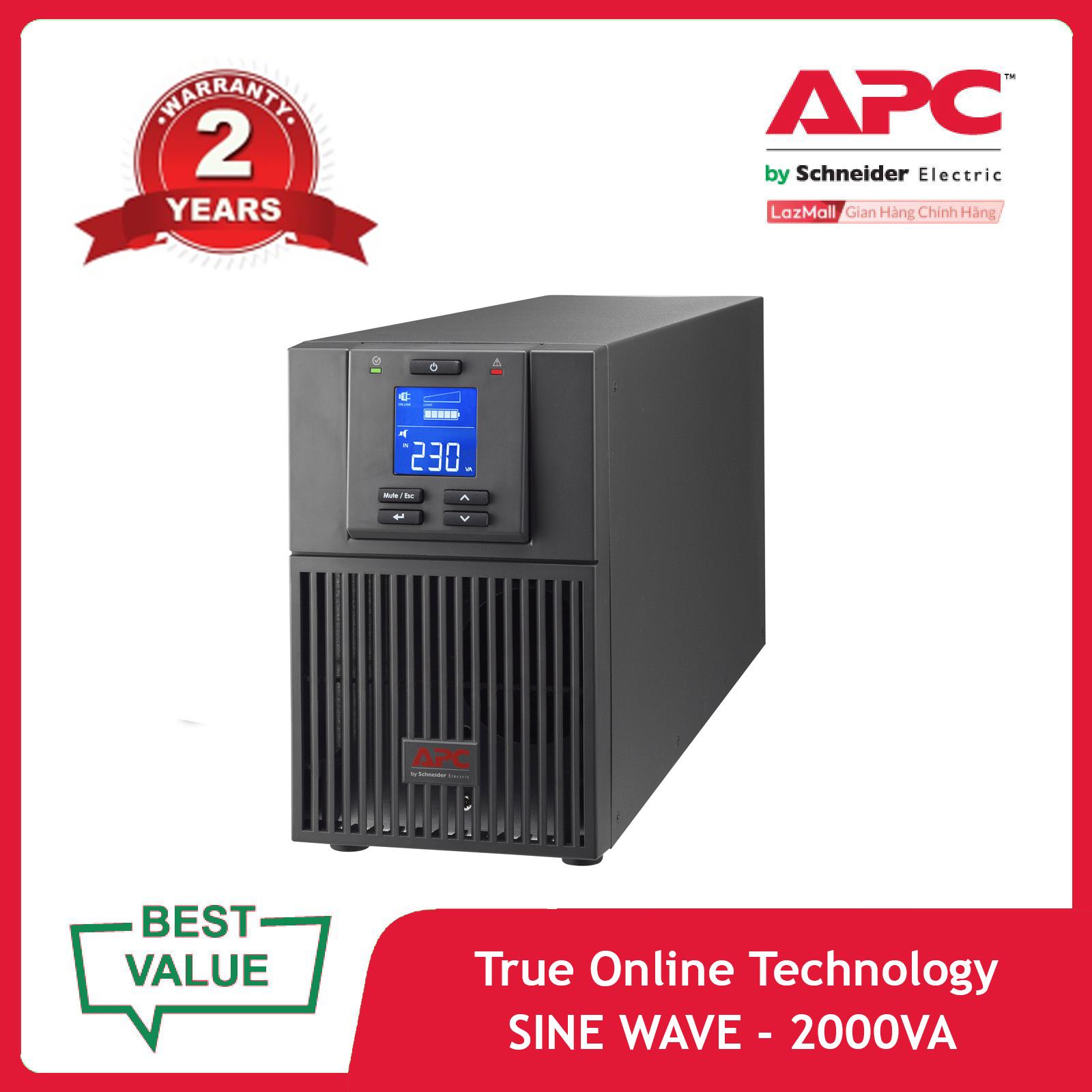 Bộ lưu điện APC: Easy UPS SRV 2000VA 230V – SRV2KI