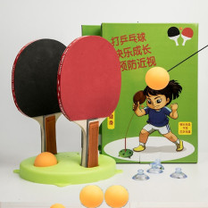 Bóng bàn tập phản xạ lắc lư cho bé – tặng kèm 3 trái bóng