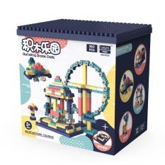 Bộ Xếp Hình Lego 520 Chi Tiết- Đồ Chơi Lắp Ghép Phát Triển Trẻ Toàn Diện