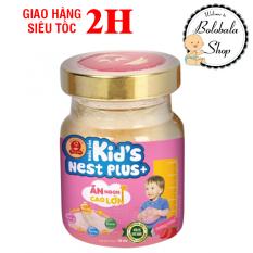 [HCM]Nước Yến Sào Cao Cấp Thiên Việt Kids Nest Plus+ Hủ 70ml – Hương Dâu