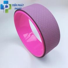 Vòng tập Yoga ECO~Friendly Đài Loan nhựa ABS 33cm(Tặng kèm sách hướng dẫn)-Màu Tím Hồng