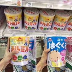 Conbo 2 Hộp Sữa Morinaga 1-3 Nội Địa Nhật Bản (Hộp 820Gr X 2)