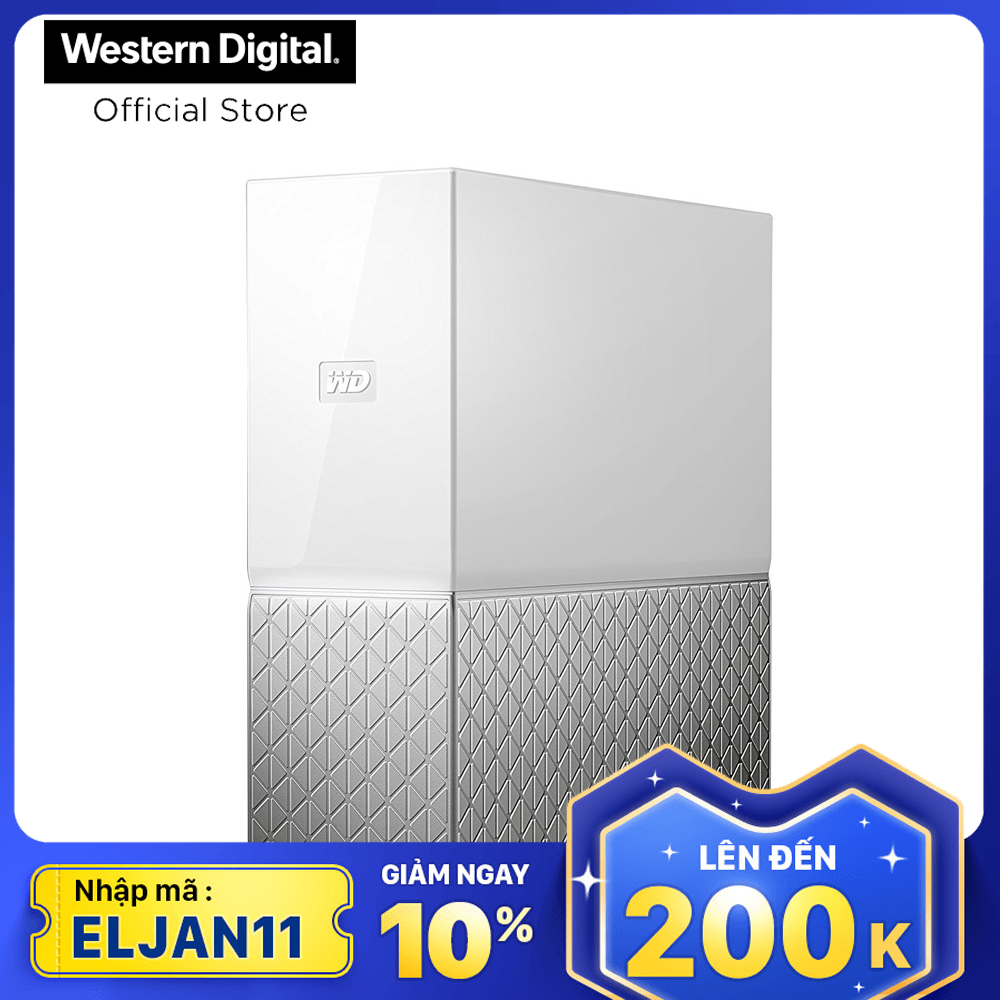 Ổ cứng mạng HDD WD My Cloud Home 8TB WDBVXC0080HWT-SESN