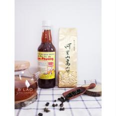 Combo Mật ong hoa cà phê 500ml + Trà Oolong thuần Đài Loan 100gr