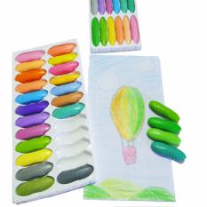 Bút sáp màu peanut 12 màu pastel CR2001