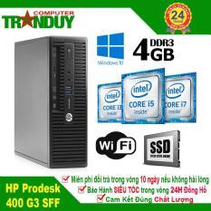 Máy Tính Bàn HP Prodesk 400 G3 SFF Socket 1151 Hỗ trợ tất cả các CPU thế hệ thứ 6 Đời Mới