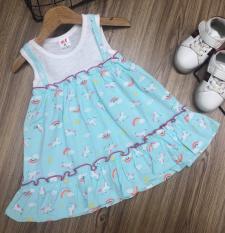 Đầm Cotton Xuân-Hè Siêu Xinh Cho Bé Gái 8-20KG-Váy đẹp cho bé (Ảnh Thật)-Nhóm màu 2