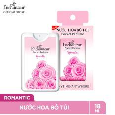 [VOUCHER 20K][Freeship]Nước hoa bỏ túi Enchanteur Romantic 18ml/hộp