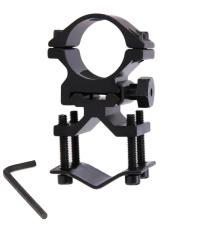 Kẹp ống đa năng K185 cho đèn laze, đèn pin, ống thép tròn, ống vuông, chân kẹp, ray kẹp, kẹp đèn, kẹp ray …. pklz +1 tô vít lục giác ( Như hình)