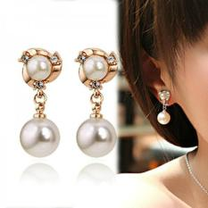 Bông tai nữ ngọc trai thời trang Hàn Quốc HKE-EY237