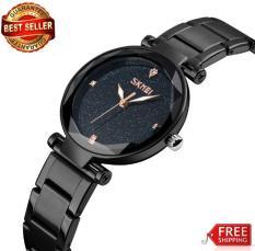 Đồng hồ Skmei nữ dây thép không gỉ siêu đẹp 9180 (bh 12 tháng)