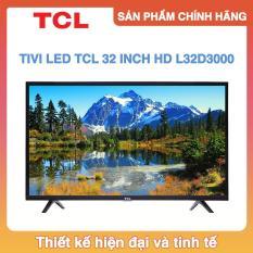 Tivi Led TCL 32 inch HD – Model L32D3000 (Đen)