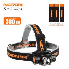 Đèn Pin LED NICRON Đèn Pha Nhôm Độ Sáng H20 Đèn Pha Ngoài Trời 380Lm 150M Đèn Pha Đèn Pin H20-A Sử Dụng Lanterna