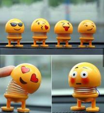 Combo 5 thú nhún Emoji trang trí/thú nhún để xe hơi( 5 mẫu khác nhau)