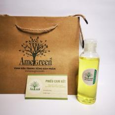 dầu gội trị gàu tinh dầu bạc hà Amegreen (chai mini 100ml)