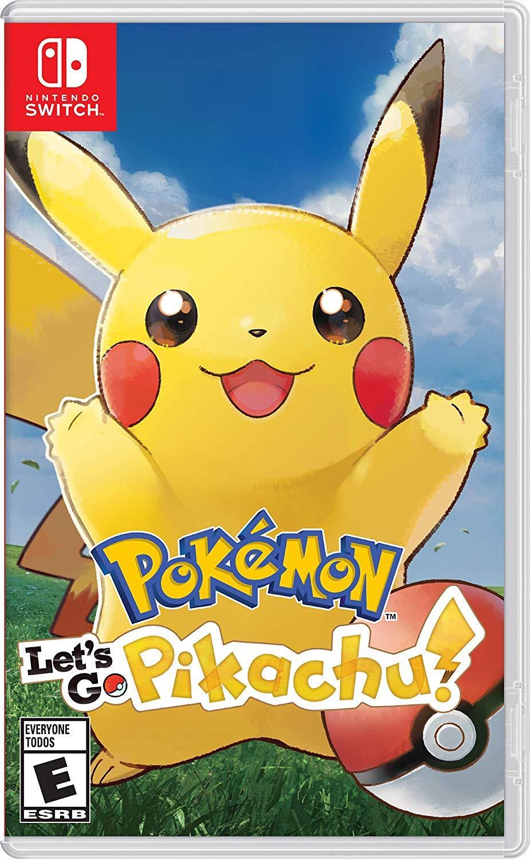 Đĩa trò chơi điện tử Nintendo Switch Pokemon Let's Go Pikachu