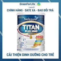 Sữa cho trẻ biếng ăn Nefesure titan plus hmo 800gr giúp bé cải thiện tình trạng suy dinh dưỡng, kém ăn, chậm lớn, thấp còi, thể trạng yếu, nhẹ cân, giúp hệ tiêu hoá của bé hấp thụ tối đa các dưỡng chất từ nhiều nguồn khác