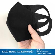 (Tri Ân Khách Hàng) Khẩu Trang Vải 3d Ngừa Bệnh Chống Bụi Bảo Vệ Sức Khỏe Ktn02- 09 (Màu Ngẫu Nhiên)- 1 cái