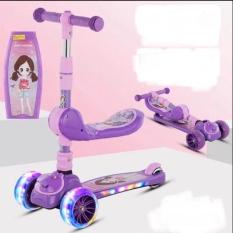 XE TRƯỢT CHO BÉ + CHÒI CHÂN COMBO 2IN1 – LOẠI CAO CẤP SIÊU TRẮC CHẮN – e scooter – xe trượt scooter – đồ chơi trẻ em
