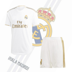 Bộ đồ đá banh Real Madrid 2019/2020, chất liệu thun lạnh Sportslink