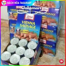 [Date: 04/2023] Lốc 6 Hộp Xúc xích Mỹ Libbys Vienna Sausage – USA, Xúc xích hộp, Thịt hộp, Thịt đóng hộp, Xúc xích Libby's, Xúc xích hộp Libbys Mỹ USA – Bách hóa Takamart