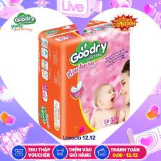 Miếng lót sơ sinh Goodry 56 miếng cho bé dưới 6 tháng