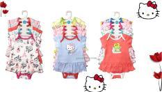 combo 5 Bộ Body váy cotton bodysuit liền váy bé gái xinh xắn 3 tháng – 2 tuổi( Màu ngẫu nhiên )