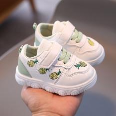 Giày thể thao tập đi cho bé gái đế mềm êm chân hình hoa quả siêu dễ thương cho bé 0-2 tuổi – NG5