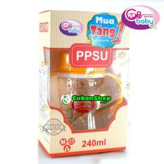 (Tặng Kèm 1 Núm) Bình Sữa PPSU GB Baby