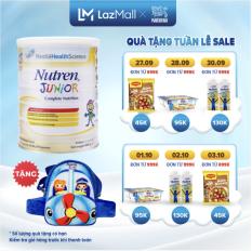 [GIẢM 35K ĐƠN TỪ 1 TRIỆU] Sản phẩm dinh dưỡng y học Nutren Junior cho trẻ từ 1-10 tuổi 800g + Tặng 1 túi đeo chéo máy bay