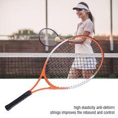 Vợt tennis chuyên nghiệp 1pc hợp kim nhôm có túi đựng cho người mới bắt đầu (màu cam)