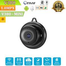 Camera WiFI Không Dây Treo Tường V380 Mini Z06- FULL HD – Hỗ Trợ Hồng Ngoại Ban Đêm