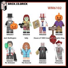 Đồ chơi lắp ráp Minifig và Non lego – Mô hình Kinh dị – Horror Movie for Halloween- The exorcist, sally – WM6102