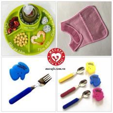 Combo số 1 – Bộ sản phẩm đồ dùng ăn dặm cho bé nhập khẩu từ Nhật Bản