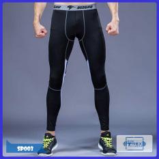 Quần legging nam Pro combat T-Rex Shop SP003 – Quần giữ nhiệt nam (Men Legging Pants,đồ tập quần áo gym, thể dục,thể hình, Fitness)