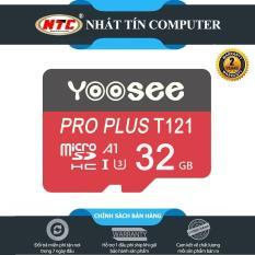 Thẻ Nhớ Microsdhc Yoosee Pro Plus 32GB / 64GB A1 U3 4K 95Mb/S (Đỏ), Tốc Độ Ghi Nhanh, Chất Lượng Hình Ảnh Video Cực Cao, Chuyên Dùng cho Điện Thoại Và Camera (2 PHÂN LOẠI TÙY CHỌN) – Nhất Tín Computer
