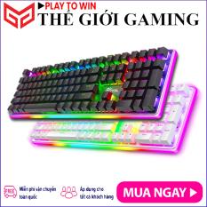 ROYAL KLUDGE RK918 | Bàn phím cơ Chơi Game RK918 RGB đèn nền viền RGB rực rỡ, có dây, Full size 108 phím – Hãng phân phối chính thức