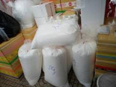 500 gram xốp tròn 3-5 ly màu trắng trang trí giáng sinh, hộp quà, trang trí phòng,
