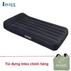 Đệm Hơi tự phồng Intex 99cm kèm gối đầu 66779 – BẢO HÀNH 12 THÁNG – INTEX Việt Nam
