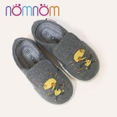 Giày slipon trẻ em Nomnom EP B1941 Ghi