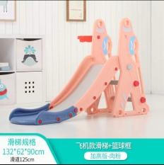 Cầu trượt đáng yêu dành cho bé hàng công ty (Xả kho sỉ=lẻ)- Tặng kèm bóng + khung bóng rổ