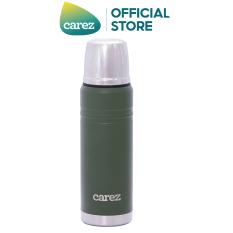Bình giữ nhiệt Carez dòng back to basic 500ml VFC556SG-550 màu xanh, thiết kế mang tính thể thao, phù hợp với các bạn trẻ năng động