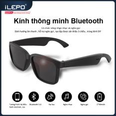 Mắt kính Bluetooth thông minh vừa nghe nhạc và gọi điện , chống tia UV , chống trầy xước , bảo hành 1 năm A2 Frames