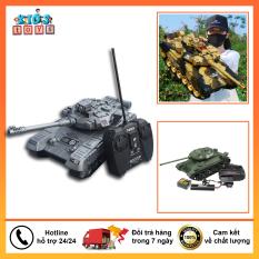 Xe tăng điều khiển, Xe điều khiển từ xa cho bé, chất liệu nhựa ABS cao cấp an toàn cho bé.