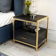 Tủ đầu giường , kệ đầu giường phong cách hiện đại , trang trí nội thất phòng ngủ gia đình DH-BT0001