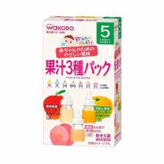 Trà gói vị hoa quả Wakodo (5gx6 gói) cho bé trên 5 tháng