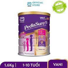 [GIẢM 30K ĐƠN 999k] Lon sữa bột Pediasure B/A hương vani 1.6kg