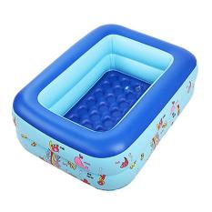 Hồ bơi trẻ em- Bể bơi cho bé- Bể bơi phao 2 tầng cho bé size 115x85x35cm – Mẫu mới 2020