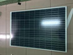 tấm pin năng lượng mặt trời poly 100w tặng 2 đầu gim điện: đực, cái