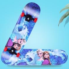 Ván trượt skateboard trẻ em hoạt hình đáng yêu cho bé trai và bé gái – thiết kế đúng tiêu chuẩn thi đấu, an toàn chắc chắn độ bền cao, BH 12 Tháng đổi 1